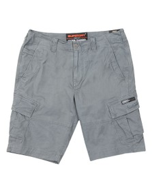 Superdry Mens Grey Core Cargo Shorts