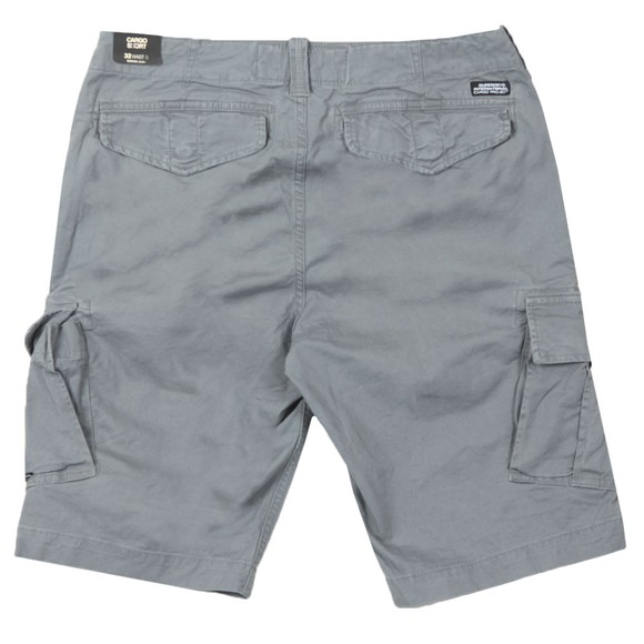 Superdry Mens Grey Core Cargo Shorts main image