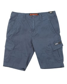 Superdry Mens Blue Core Cargo Shorts