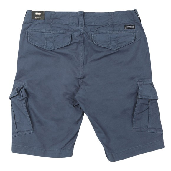 Superdry Mens Blue Core Cargo Shorts main image