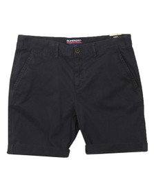 Superdry Mens Blue International Chino Short