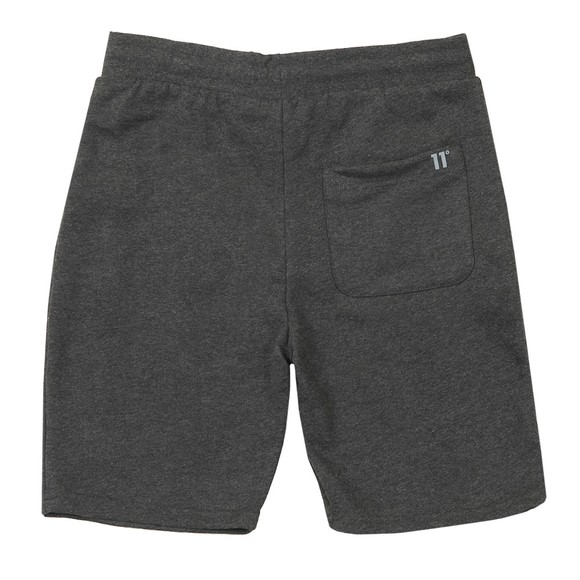 Eleven Degrees Mens Grey Core Sweat Short main image