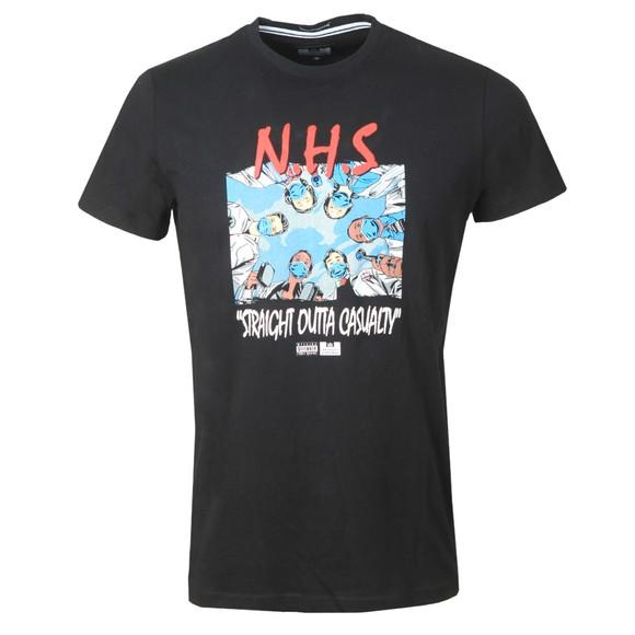 Weekend Offender Mens Black NHS T Shirt main image