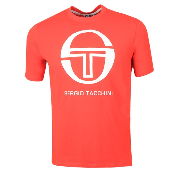 Sergio Tacchini Mens Red Iberis T-Shirt