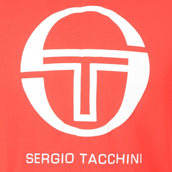 Sergio Tacchini Mens Red Iberis T-Shirt main image