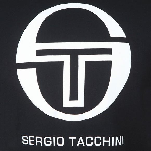 Sergio Tacchini Mens Black Iberis T-Shirt main image