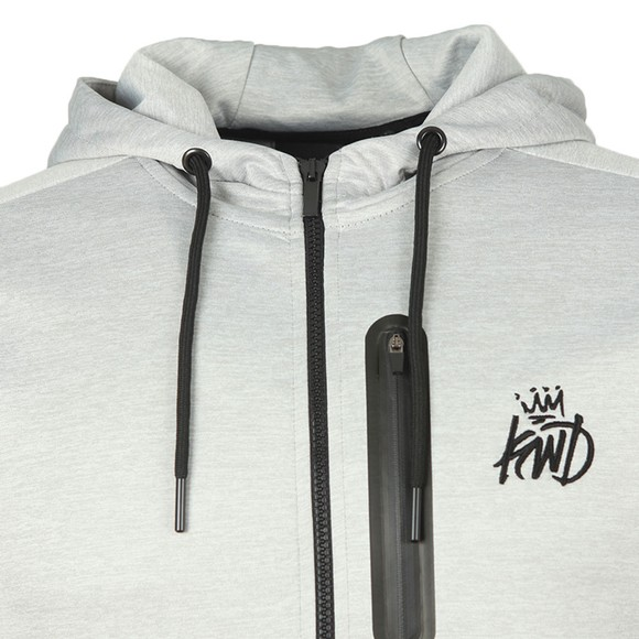 Kings Will Dream Mens Grey Avell Zip Hoodie main image
