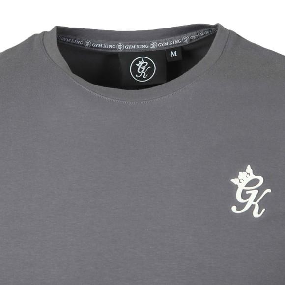 Gym King Mens Grey Origin T-Shirt main image