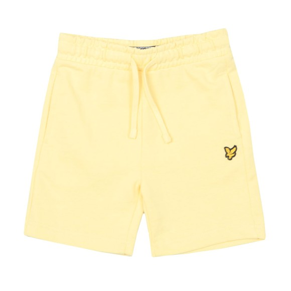 Lyle And Scott Junior Boys Yellow Classic Jogger Short