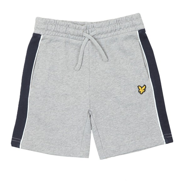 Lyle And Scott Junior Boys Grey Side Panel LB Short