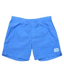 C.P. Company Mens Blue Nylon Swim Short