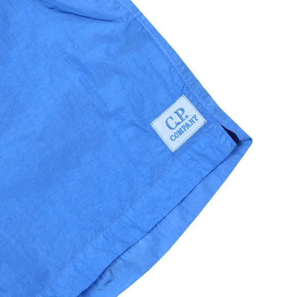 C.P. Company Mens Blue Nylon Swim Short