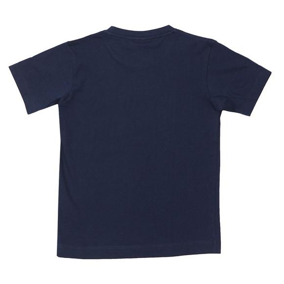 Paul & Shark Cadets Boys Blue Chest Logo T Shirt main image