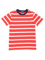 Block Stripe Crew T Shirt