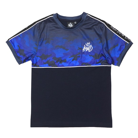 Kings Will Dream Boys Blue Boys Mector Fade T-Shirt