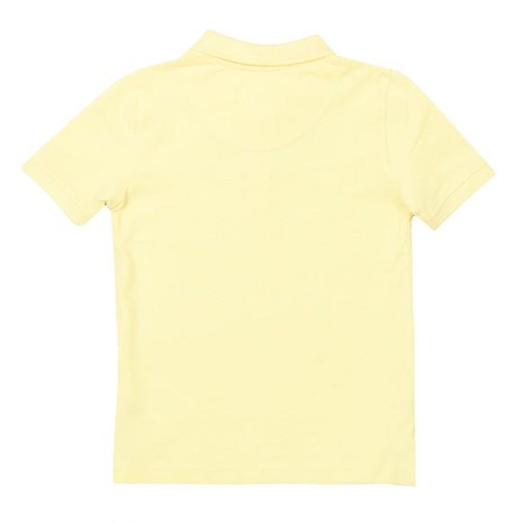 Lyle And Scott Junior Boys Yellow Classic Marl Polo Shirt main image