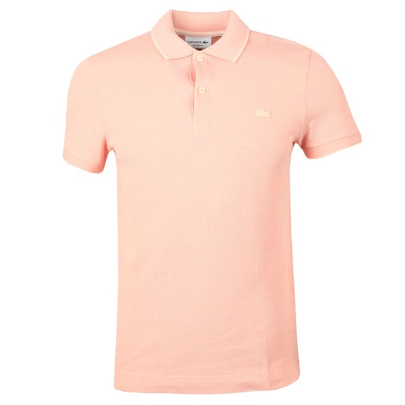 Lacoste Mens Pink PH5005 Polo Shirt