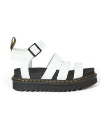 Dr. Martens Womens White Blaire Sandal