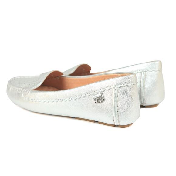 Ugg Womens Silver Bev Metallic Loafer main image