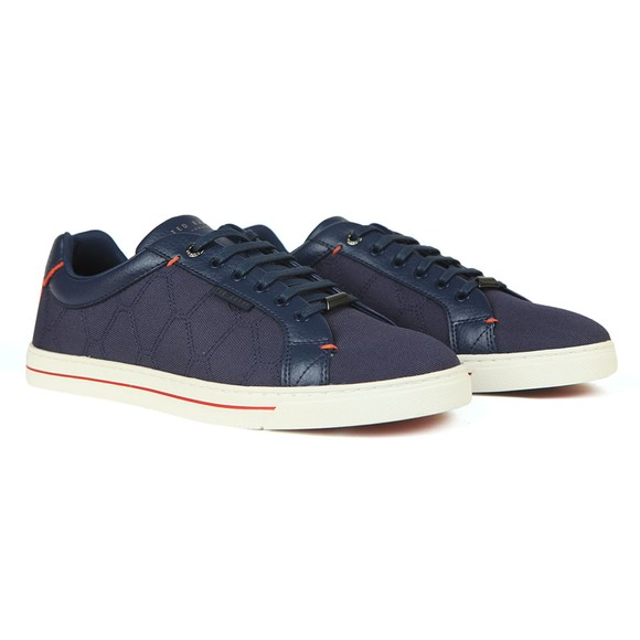 Ted Baker Mens Blue Ashtol Trainer