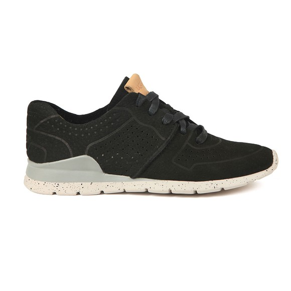 Ugg Womens Black Tye Trainer