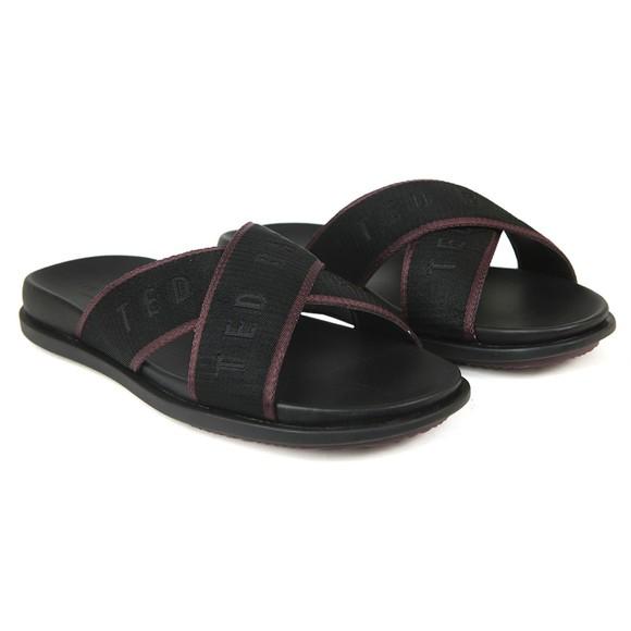 Ted Baker Mens Black Mablar Sandal