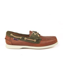 Sebago Mens Brown Trickey Boat Shoe