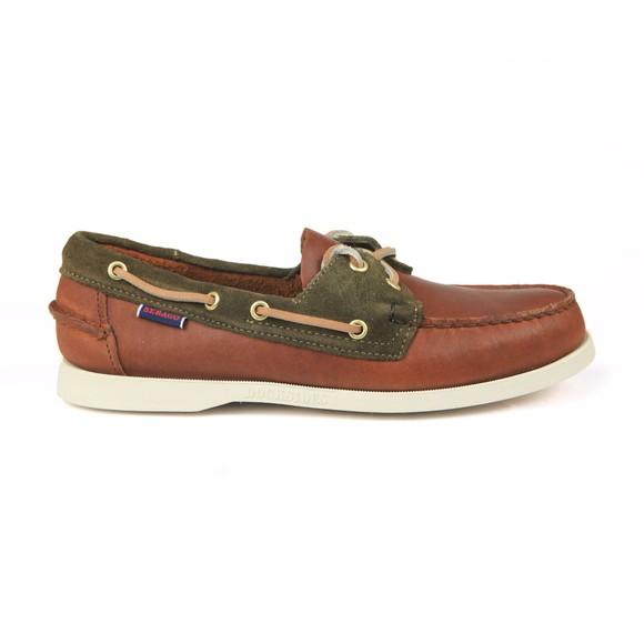 Sebago Mens Brown Trickey Boat Shoe