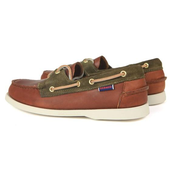Sebago Mens Brown Trickey Boat Shoe main image
