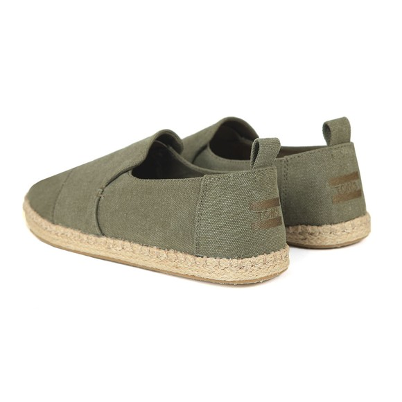 Toms Mens Green Deconstructed Alpargata Rope Sole  main image