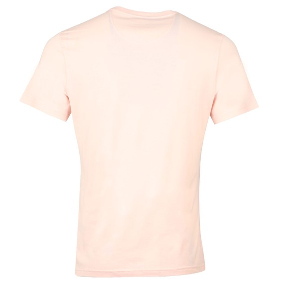 Barbour Lifestyle Mens Pink Durness Pocket T-Shirt main image