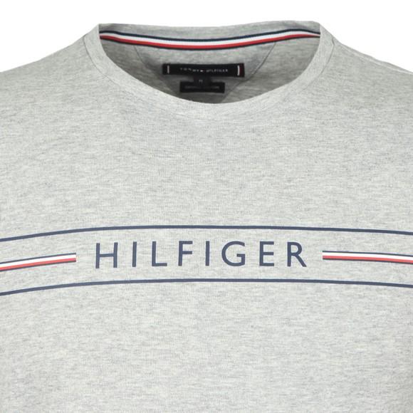 Tommy Hilfiger Mens Grey Corp Hilfiger T-Shirt main image