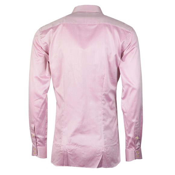 Ted Baker Mens Pink Herringbone Sterling Shirt main image