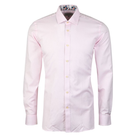 Ted Baker Mens Pink Geo Stirling Endurance Shirt