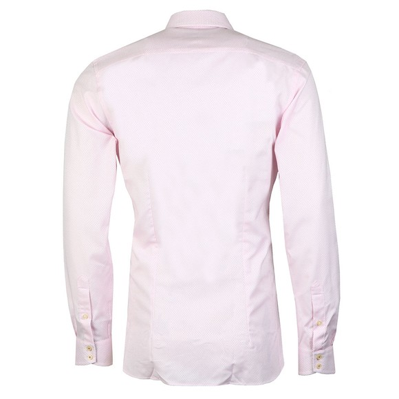 Ted Baker Mens Pink Geo Stirling Endurance Shirt main image