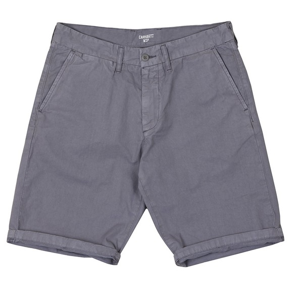 Carhartt WIP Mens Purple Johnson Chino Short