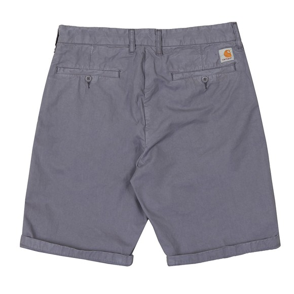 Carhartt WIP Mens Purple Johnson Chino Short