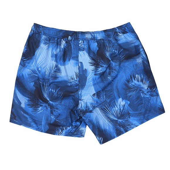 Emporio Armani Mens Blue Patterned Swim Short main image