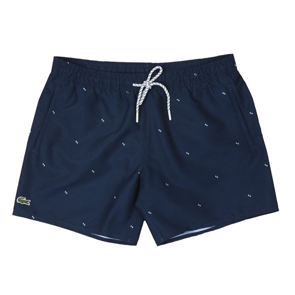Lacoste Mens Blue MH6266 Swim Shorts