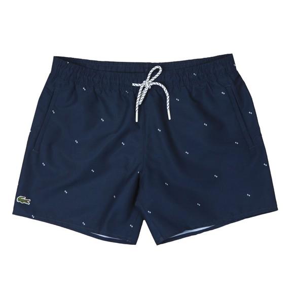 Lacoste Mens Blue MH6266 Swim Shorts