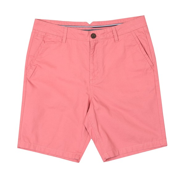 Crew Clothing Company Mens Pink Bermuda Short