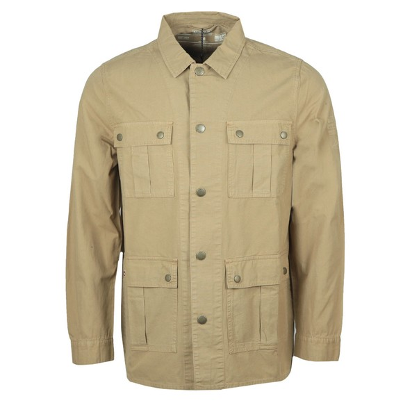 Barbour Int. Steve McQueen Mens Beige Chico Overshirt