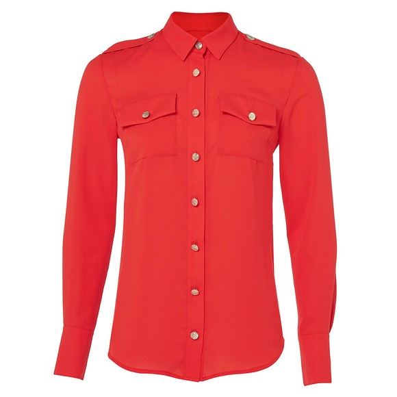 Holland Cooper Womens Red Luxury Shirt