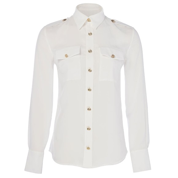 Holland Cooper Womens White Luxury Shirt main image