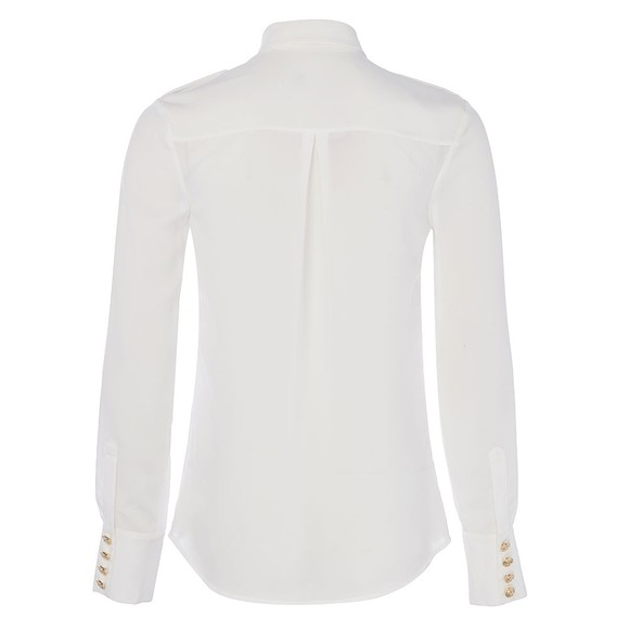 Holland Cooper Womens White Luxury Shirt