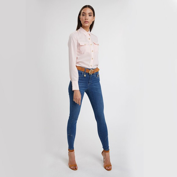 Holland Cooper Womens Pink Luxury Shirt main image