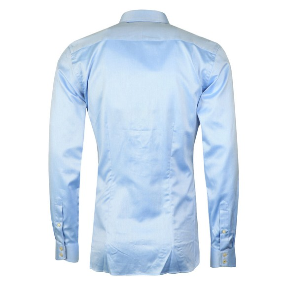 Ted Baker Mens Blue Herringbone Sterling Shirt main image