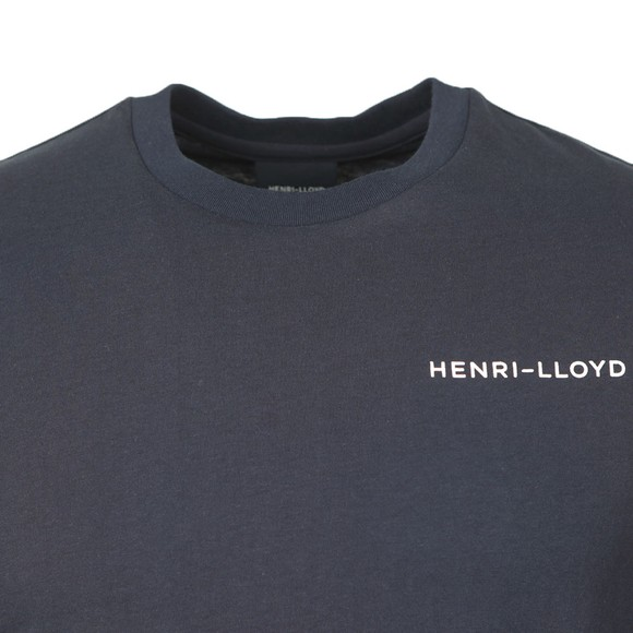 Henri Lloyd Mens Blue RWR T-Shirt main image