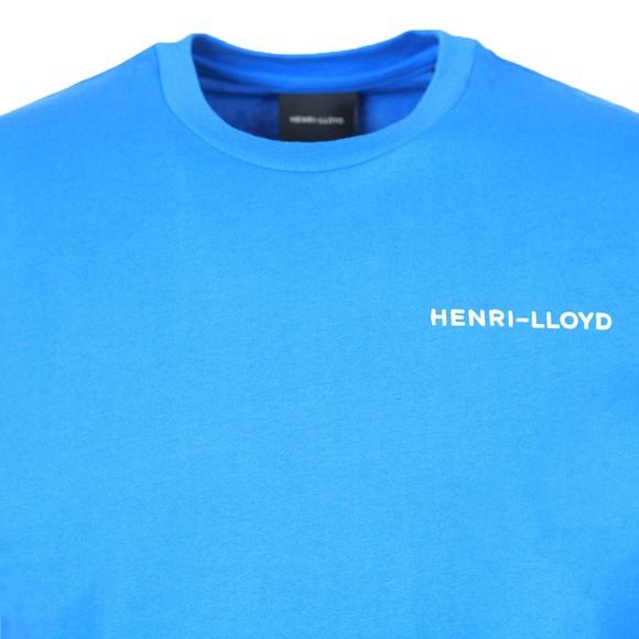 Henri Lloyd Mens Blue RWR T-Shirt