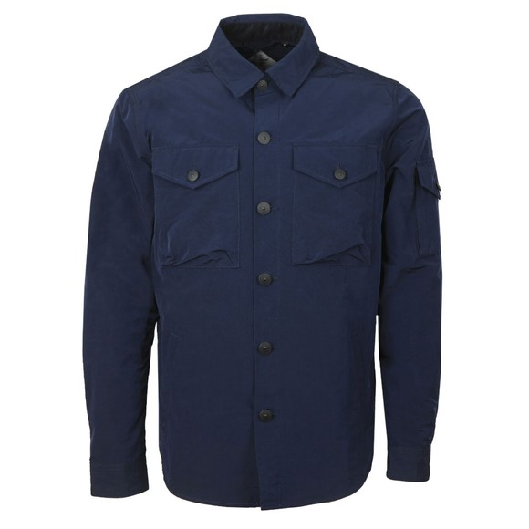 Barbour Beacon Mens Blue Askern Overshirt